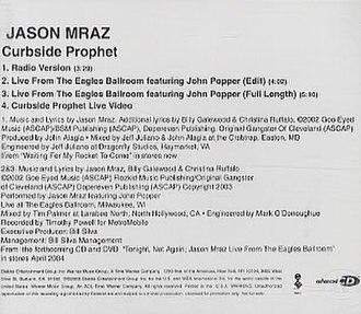 Curbside Prophet - Image: Curbside Prophet