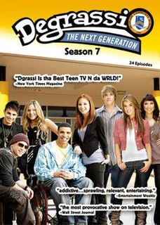 <i>Degrassi: The Next Generation</i> (season 7) season of television series