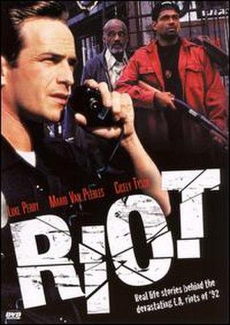 Riot (1997 film) - Image: DVD cover of Riot (1997 film)