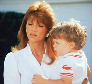 Christopher Ewing - Christopher with his adoptive mother Pam in 1983.