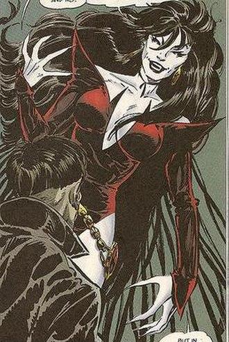 Dark Angel (DC Comics) - Dark Angel Art by: John Byrne
