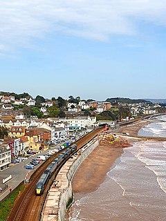 Dawlish Seaside town in Devon, England