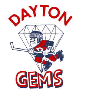 Dayton Gems - Original Dayton Gems team logo from 1968