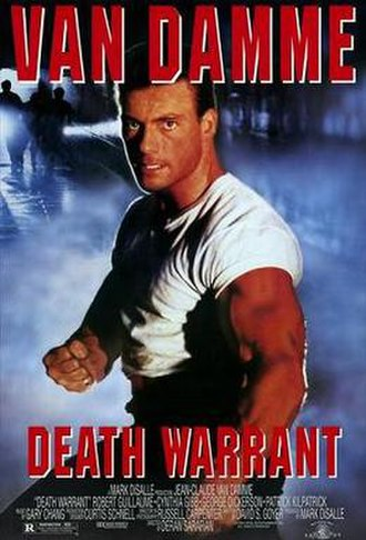 Death Warrant (film) - Theatrical release poster