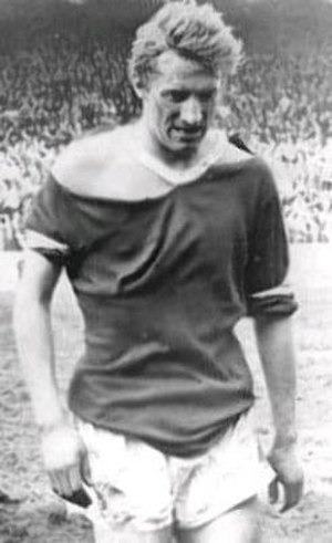 Leeds United F.C.–Manchester United F.C. rivalry - Denis Law's shirt after the vicious FA Cup semi-final
