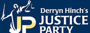 Derryn Hinch's Justice Party - Image: Derryn Hinch's Justice Party logo
