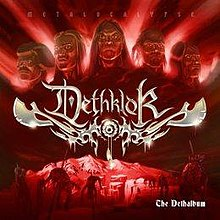 The deluxe edition cover of The Dethalbum.