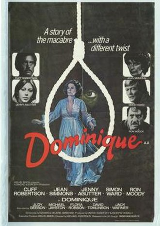 Dominique (1978 film) - Image: Dominique Film Poster