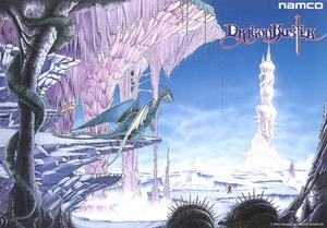 Dragon Buster - Arcade flyer