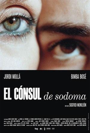 El cónsul de Sodoma - Theatrical release poster