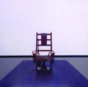 Robert Priseman - Electric Chair by Robert Priseman from the 'No Human Way To Kill' series