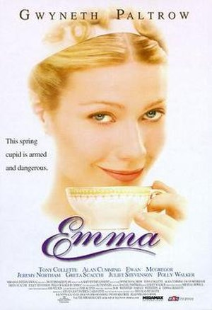 Emma (1996 theatrical film) - Theatrical release poster