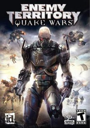 Enemy Territory: Quake Wars - Image: Enemy Territory Quake Wars Game Cover