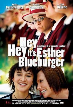 Hey, Hey, It's Esther Blueburger - Theatrical release poster