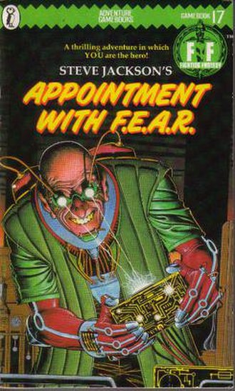 Appointment with F.E.A.R. - The original Puffin Books cover