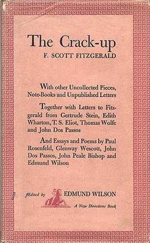 The Crack-Up - First edition cover
