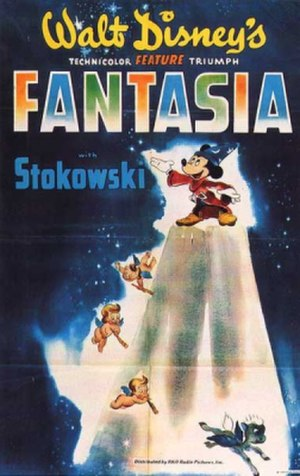 Fantasia (1940 film) - Theatrical release poster