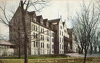 Ferry Hall School - Image: Ferry Hall School Campus 1912
