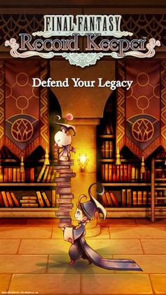 Final Fantasy Record Keeper - Poster art for Final Fantasy Record Keeper