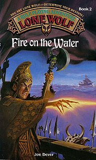 <i>Fire on the Water</i> book by Joe Dever