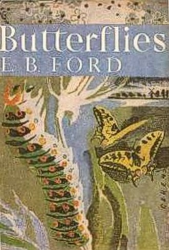 New Naturalist - Cover of the first book in the series, E.B. Ford's famous Butterflies