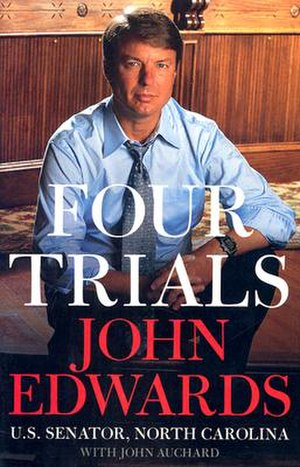 Four Trials - Cover of the hardcover edition.