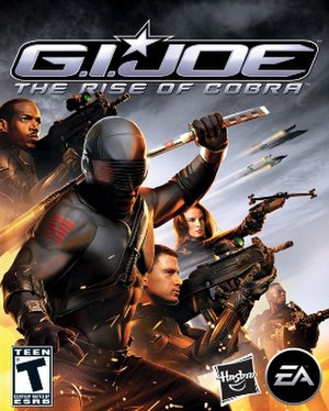 G.I. Joe: The Rise of Cobra (video game) - Image: G.I. Joe The Rise of Cobra Cover