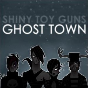 Ghost Town (Shiny Toy Guns song) - Image: Ghost Town cover