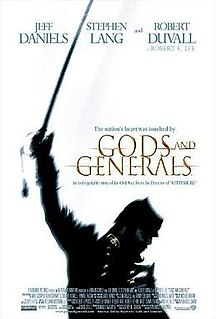 <i>Gods and Generals</i> (film) 2003 film by Ronald F. Maxwell