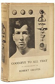 A young Robert Graves as a Captain in the Royal Welch Fusiliers