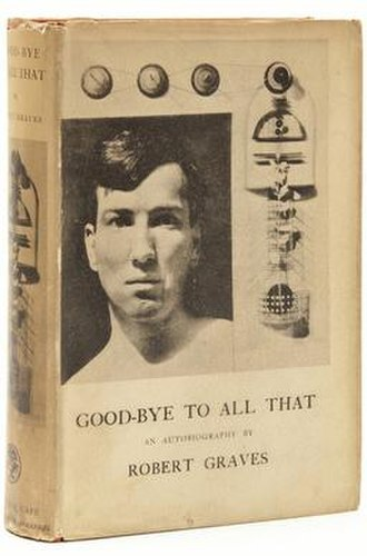 Good-Bye to All That - Cover of the first edition
