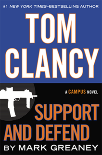 <i>Support and Defend</i> novel by Mark Greaney