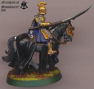 The Lord of the Rings Strategy Battle Game - Image: Grimhelm Conversion