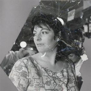 Three Studies for a Portrait of Henrietta Moraes - Early or mid-1960s photograph of Moraes by John Deakin