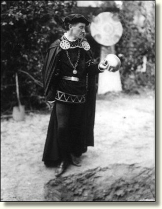 Forest Theater - Herbert Heron as Hamlet in 1926