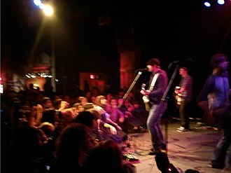 Skeletons (Hawthorne Heights album) - Hawthorne Heights during a show while on tour supporting the upcoming release for Skeletons.