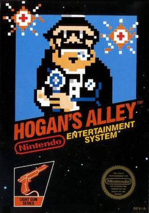Hogan's Alley (video game) - Image: Hogan's Alley Cover