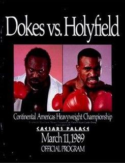 Michael Dokes vs. Evander Holyfield