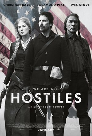 Hostiles (film) - Theatrical release poster