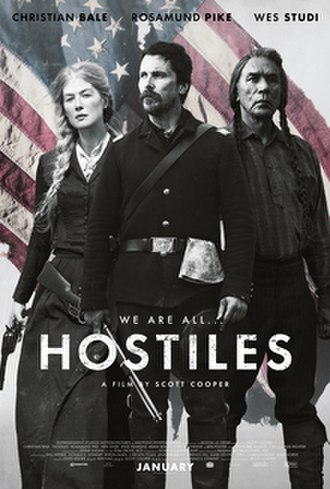 Hostiles (film) - Theatrical release poster