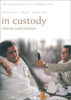 In Custody (1993 film) - Image: In Custody, 1993 film