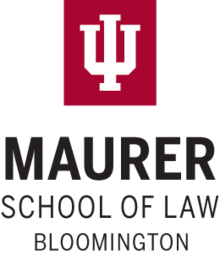 Indiana University Maurer School of Law wordmark.png