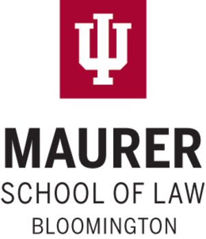 Indiana University Maurer School of Law - Image: Indiana University Maurer School of Law wordmark