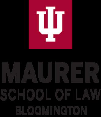 Indiana University Maurer School of Law - Image: Indiana University Maurer School of Law wordmark