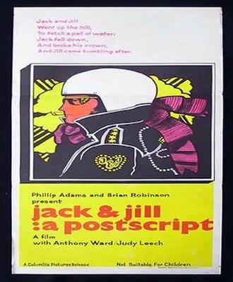 Jack and Jill: A Postscript - Image: Jack And Jill A Postscript Poster