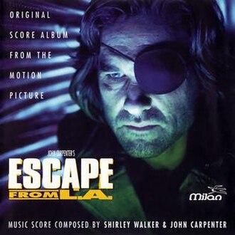 Escape from L.A. (score) - Image: John Carpenter & Shirley Walker Escape from L.A. score 1996