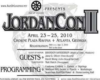 JordanCon - Image: Jordancon