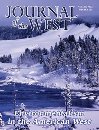 Journal of the West - Image: Journal of the West (cover)