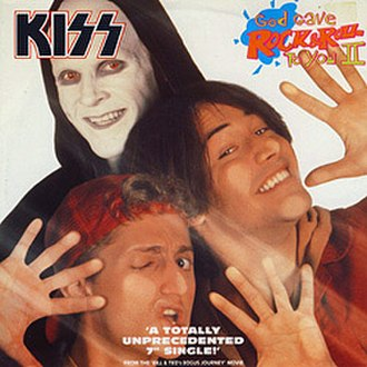 God Gave Rock and Roll to You - Image: KISS ggr&rty II single cover