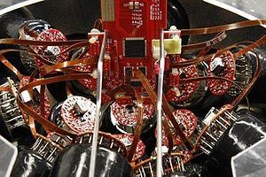 KM3NeT - Image: KM3Ne T DOM electronics